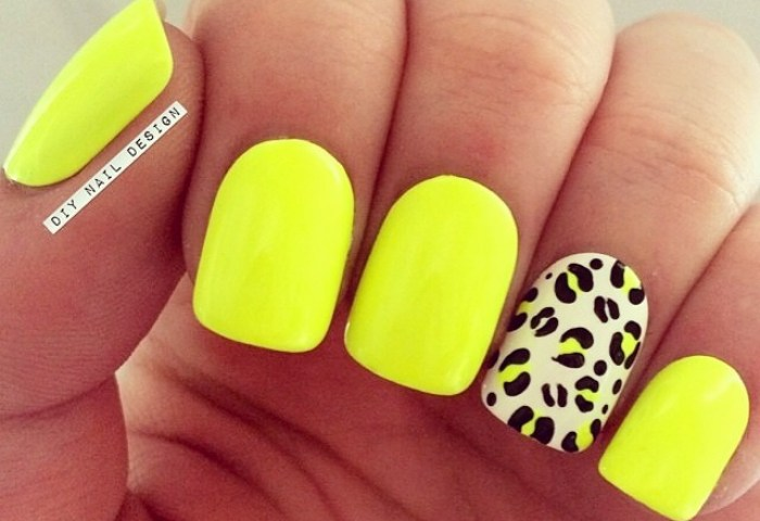 Leopard Nails Uploaded By Tiana On We Heart It