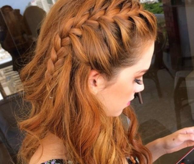 Hair Braid And Girl Image