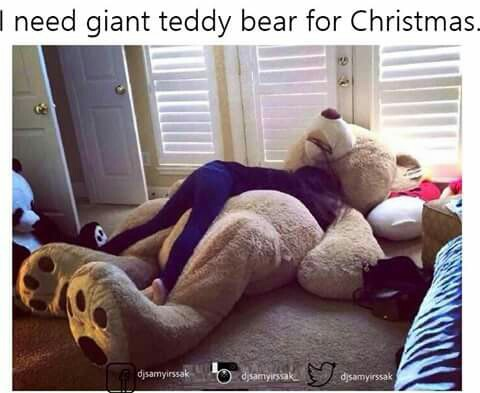 31 Images About Giant Teddy Bears On We Heart It See More