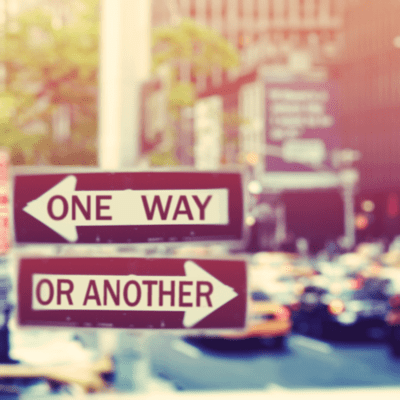 One Way or Another Street