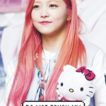 Yeri Red Velvet Pink Hair On We Heart It