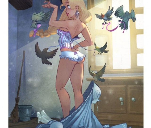 Nerd Art Stockpile Shirtless Darth Vader Sexy Disney Princesses