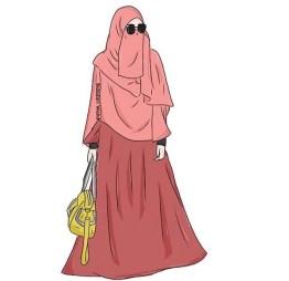 77 Koleksi Gambar Kartun Islami Bercadar Gratis
