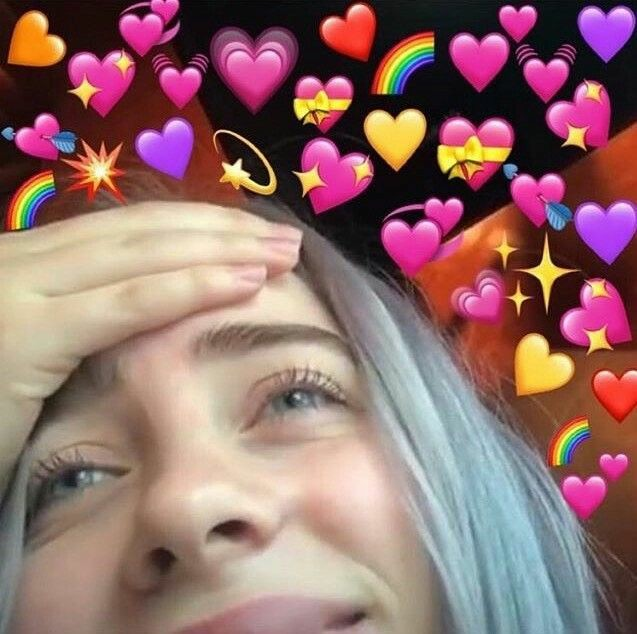 Billie Eilish Reaction Pic Uploaded By Heartxagb