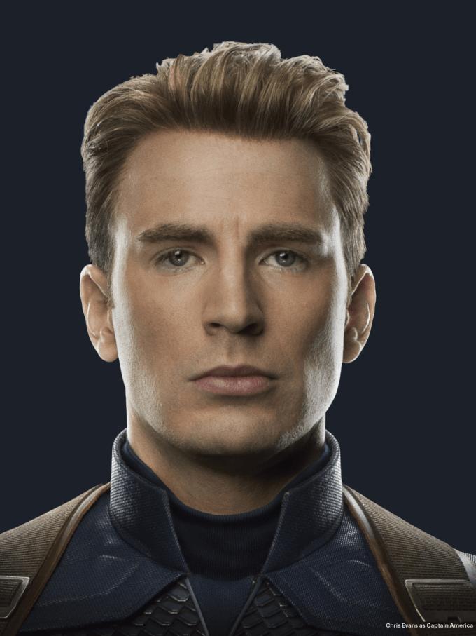 avengers endgame: captain america discovered by @marvelousgirl94