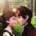 Jack Frost And Elsa No Magic Jelsa Frozen 2 Jackson Overland