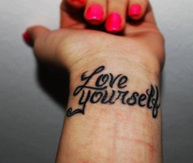 Love Yourself Black And D Image