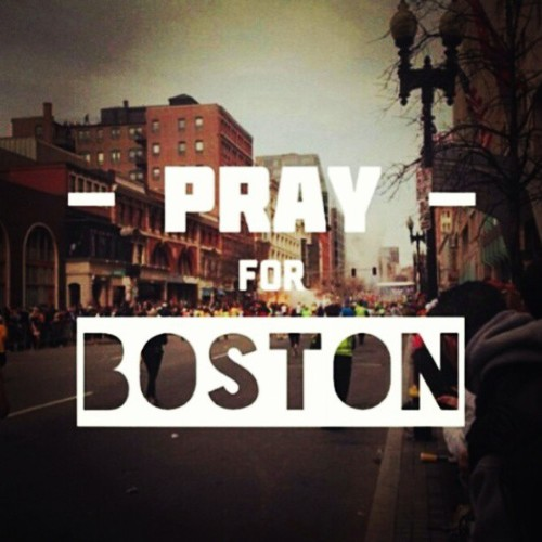 Pray For Boston <3