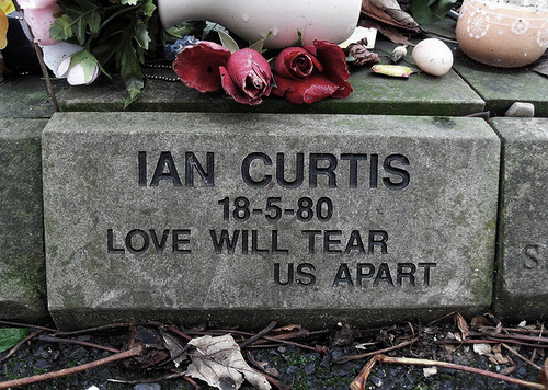 Image result for ian curtis rip
