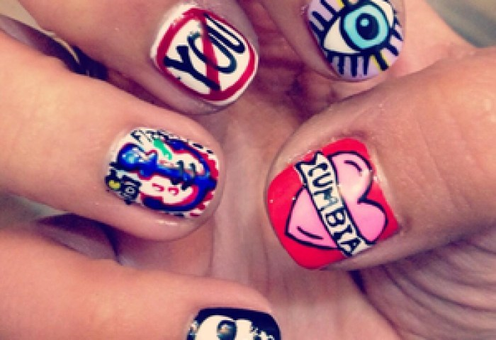 36 Images About Uñas Raras On We Heart It See More About Nails