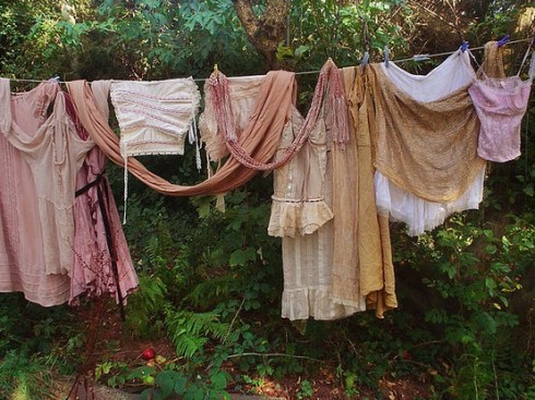 The Romance of Hanging Laundry