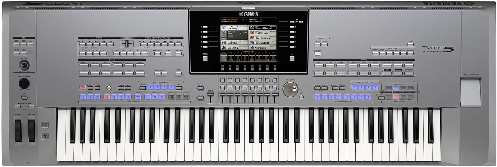 Yamaha Tyros 5 (76Key & 61Key) Review & Best Price | Digital