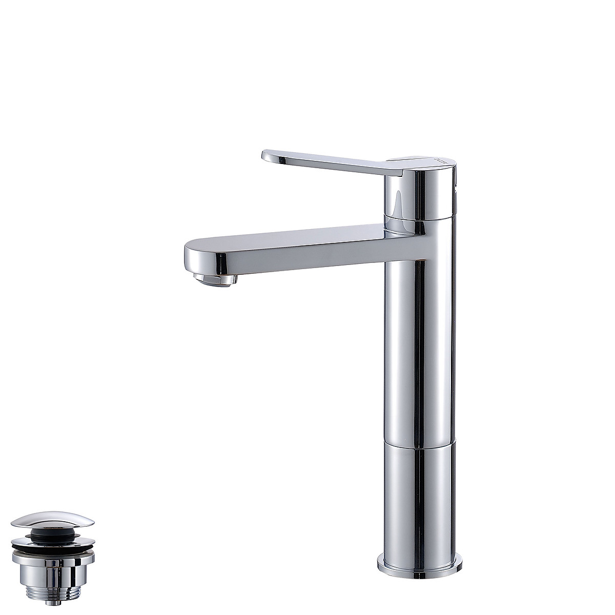 Single Lever Washbasin Mixer Spout 120mm With Extensions