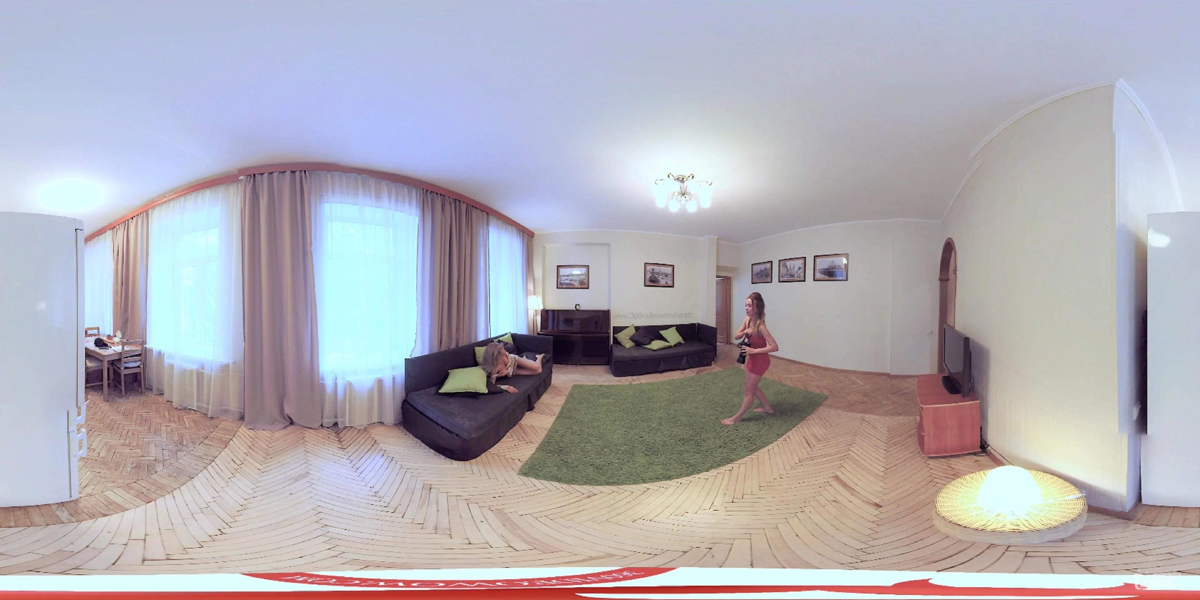 【360度VR全景視頻】怎樣拍出性感照片-360度VR女孩(4K)_VR資源交流_ZNDS