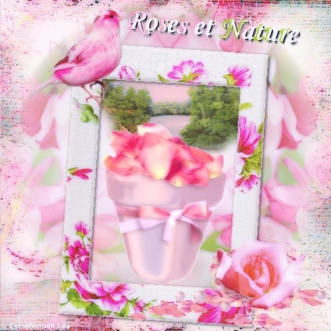 défi roses et nature chez Pat for u by cassebonbon léa
