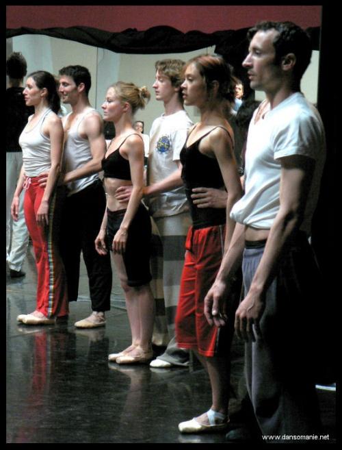 Ballet d'europe - repet Requiem