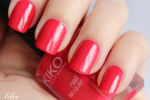 KIKO 362 Poppy red + water decals T324 ...