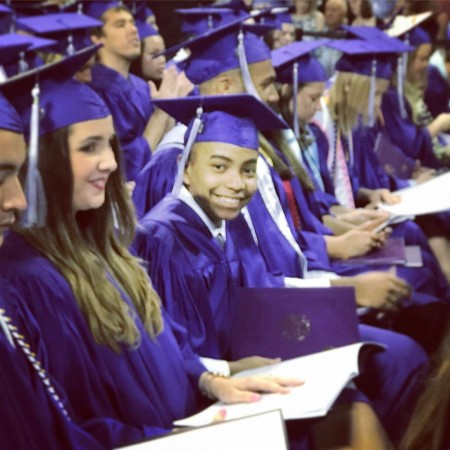 Image result for Carson Huey-You graduates from university