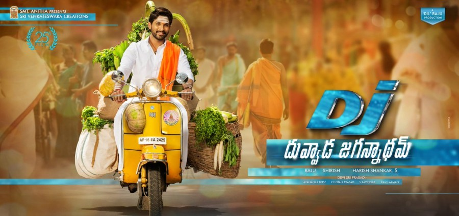 Image result for dj telugu poster