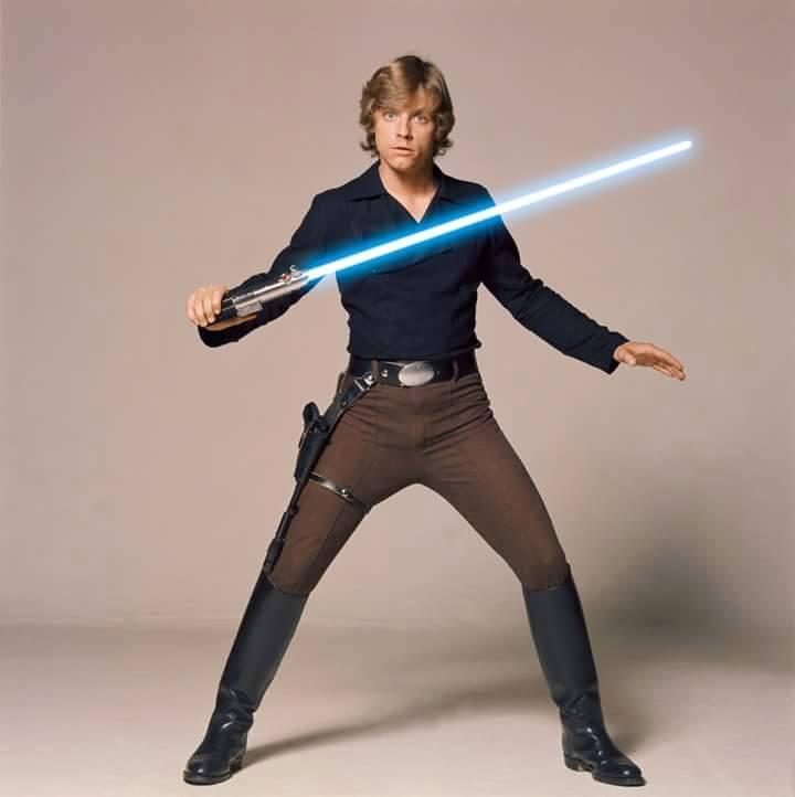 Luke Skywalker Black Outfit