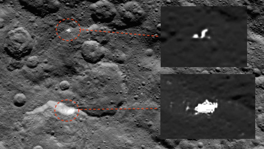 UFO Sighting 2015: Ceres