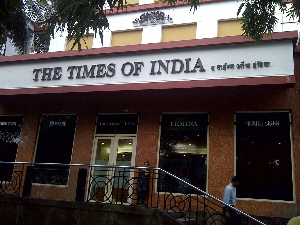 Times Of India Building In Bahadur Shah Zafar Marg Catches