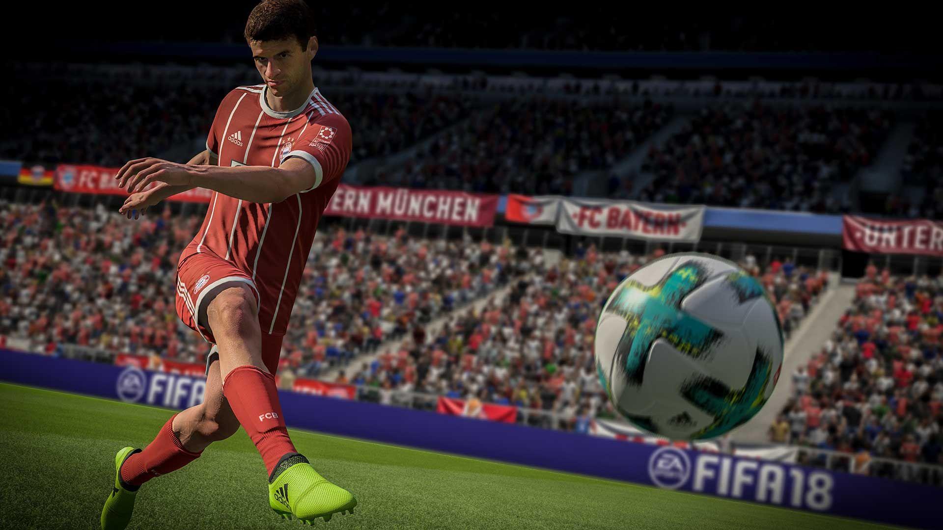 Скриншот FIFA 18 #1