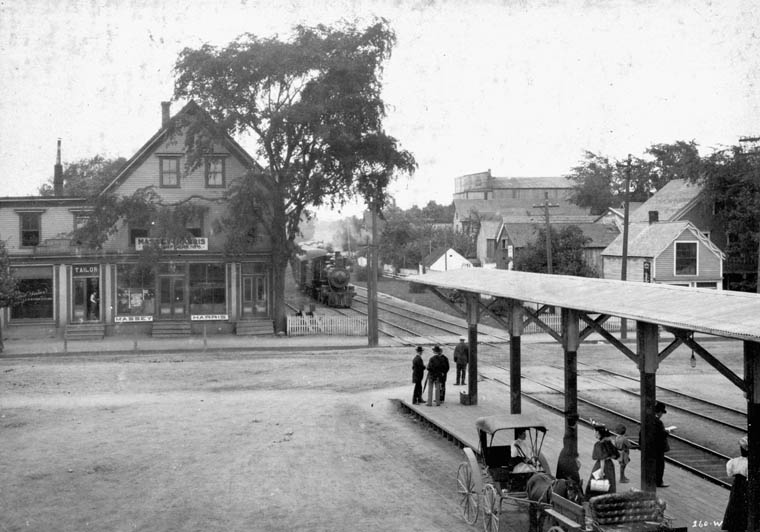 Kentville station picture