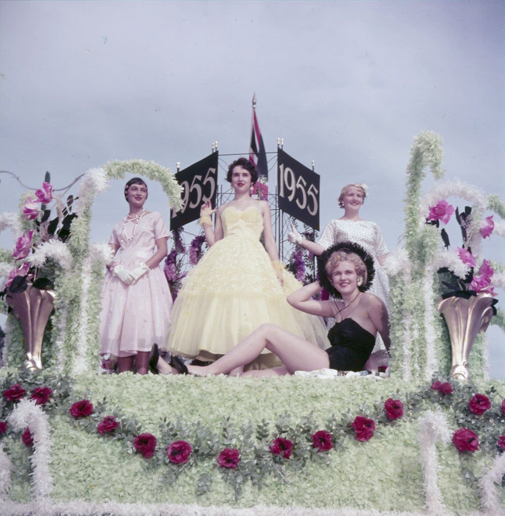 1956 canada parade float