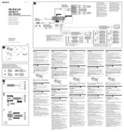 Sony XRCA370X Manuals