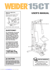 weider home gym manual | Gymtutor co
