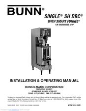 Bunn Single SH BrewWISE DBC Manuals