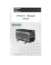 Honda EB12D Manuals