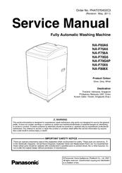 Panasonic NAF806X Export Manuals