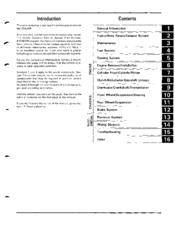Honda CR500R Manuals