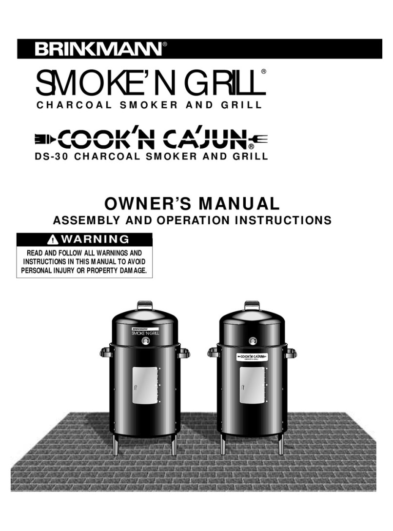 Brinkmann Smoke N Grill Owner S Manual