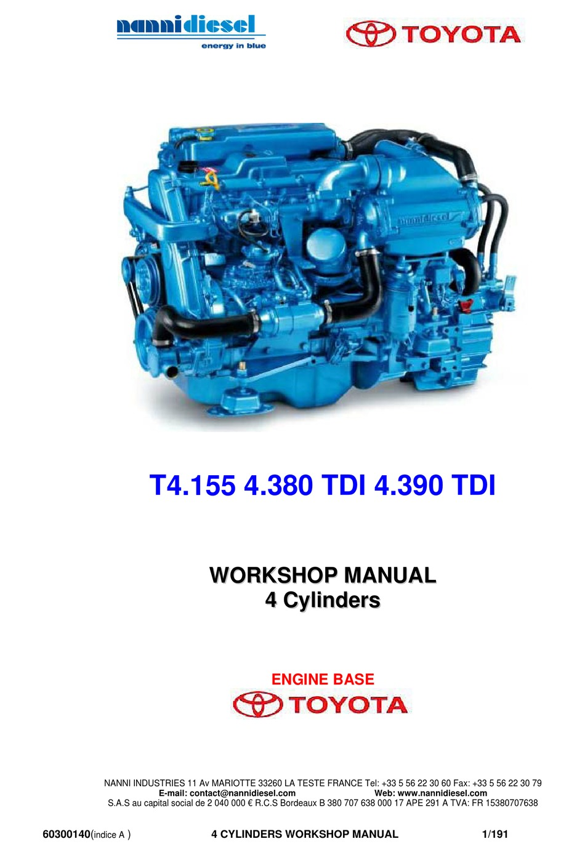 Nanni T4 155 Workshop Manual Pdf Download Manualslib
