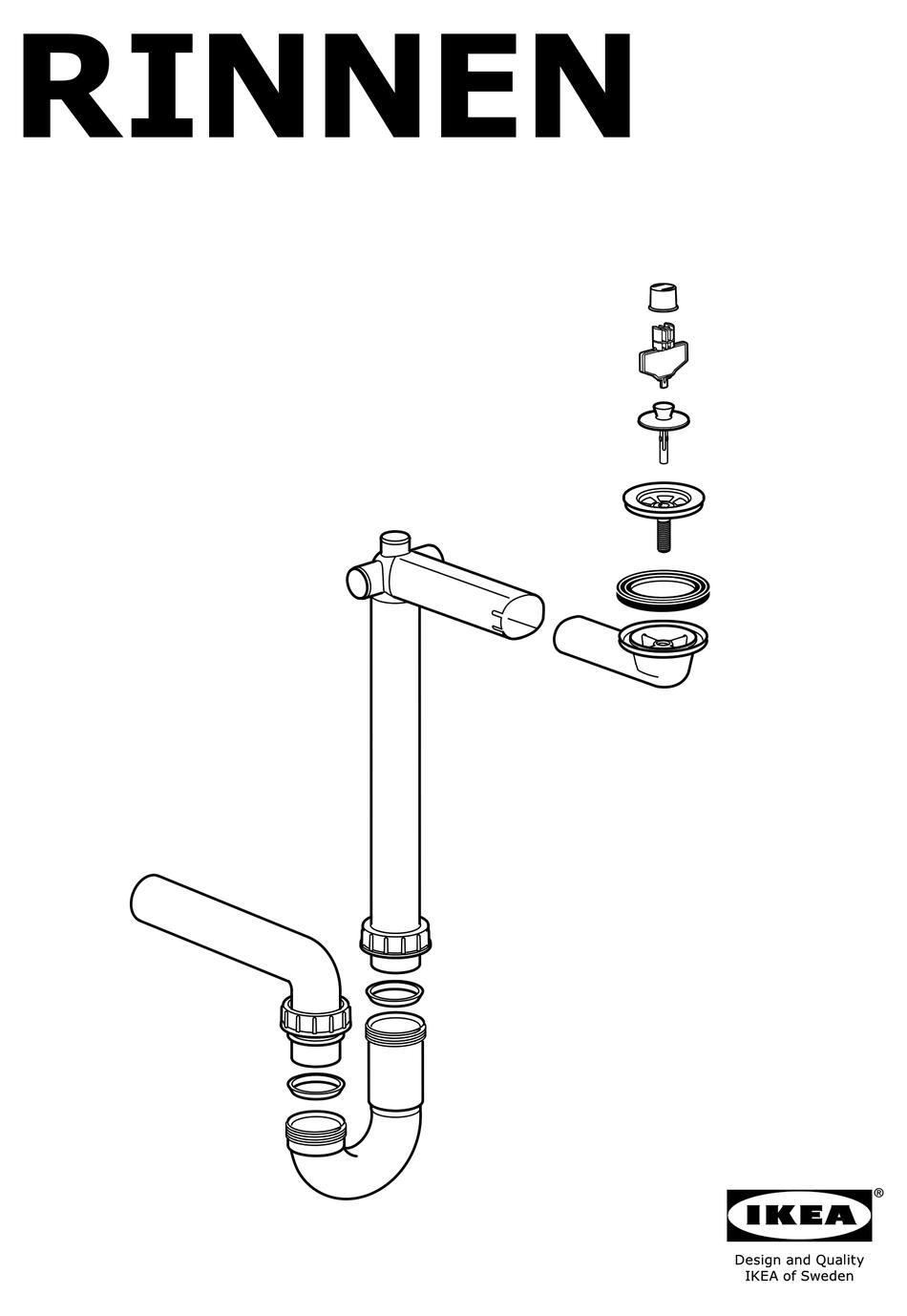 ikea rinnen installation manual pdf