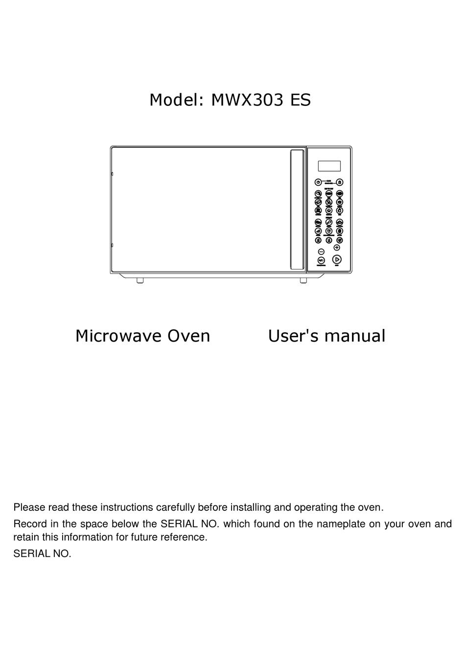 whirlpool mwx303 es user manual pdf