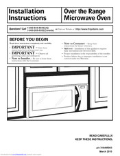 frigidaire fgmv175qfa manuals manualslib