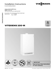 Viessmann Vitodens 200 W Wb2b 80 Manuals Manualslib