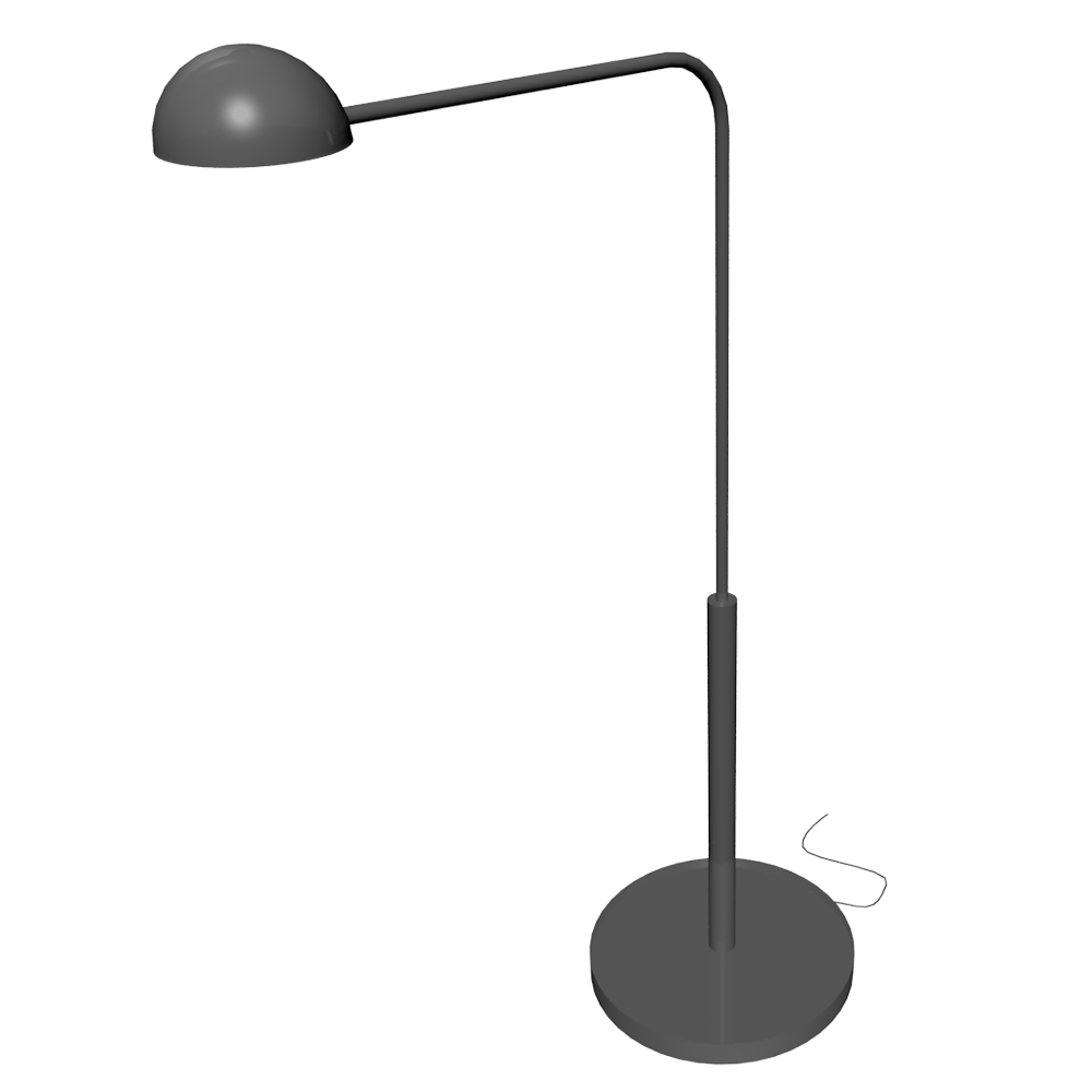 Bim Object 365 Brasa Floor Lamp Ikea Polantis Free 3d Cad And Bim Objects Revit Archicad Autocad 3dsmax And 3d Models