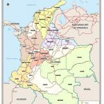 Documento Colombia Administrative Map And Unhcr Coverage January 2009