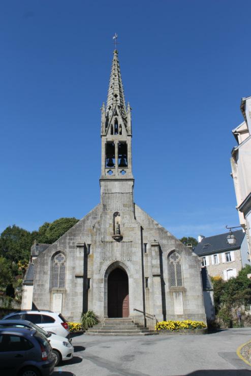 Понт-Авен (Pont-Aven). Церковь