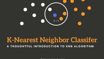K-nearest neighbor algorithm implementation in Python from