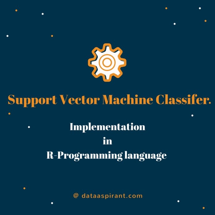 Support Vector Machine Implementation in R Programming Language