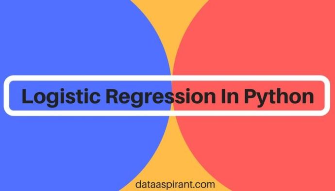 How to implement logistic regression model in python for binary