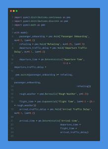Markov chain python code