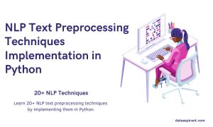 NLP Text Preprocessing Techniques