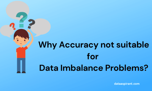 How to measure performance for data imbalance problems